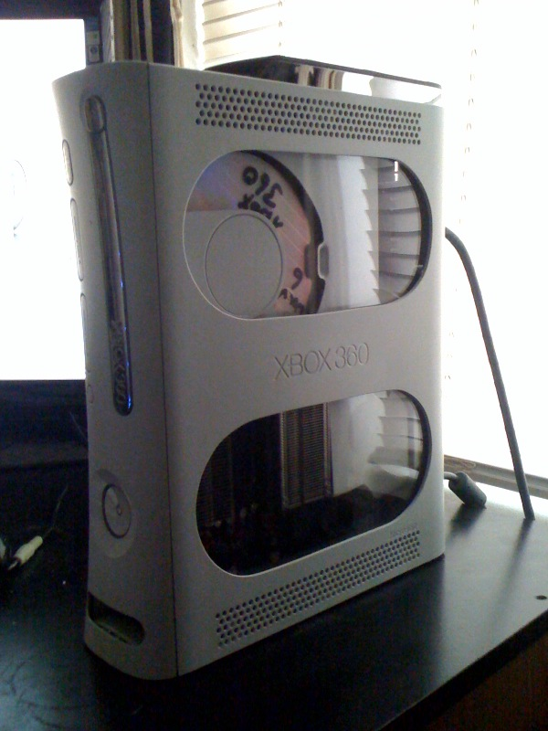 Modded Xbox 360 by Mybad